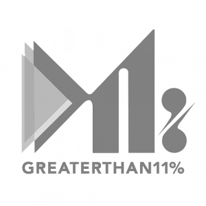 Greater Than 11% Podcast logo